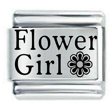 Daisy Charm - FLOWER GIRL * Fits Nomination Classic Size Italian Charms