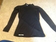 Small Fitted Under Armour Black Coldgear Shirt