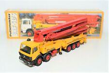 Conrad 3086 Mercedes-Benz BRF 52/5 Putzmeister Concrete Pump Truck 1/50 LN