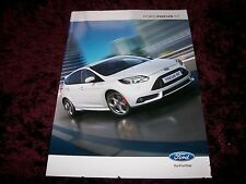 Ford Focus ST Brochure 2012