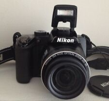 Digital Camera Nikon Coolpix P100 10.3 MP Black 26X Optical zoom swivel screen