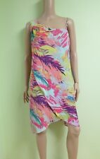 "BCBG NWT ""Alyssa"" Multi-Color One-Shoulder Cocktail Party Dress New 0 JFM60E55"