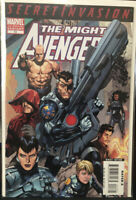 The Mighty Avengers #13 2nd Print Variant (2008) NM Cond 1st Secret Warriors!