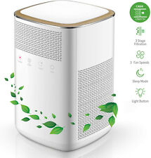 Air Purifier, 4 in 1 HEPA Mini Home Air Purifier with 2 True Carbon Filters
