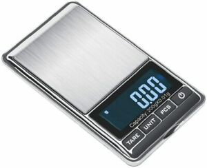 TBBSC Smart Weigh Scale High Precision Digital Jewelry Pocket Scale 200g/0.01g