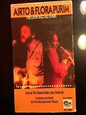 Airto & Flora Purim Latin Jazz All-Stars Music Festival Concert Video VHS LIVE