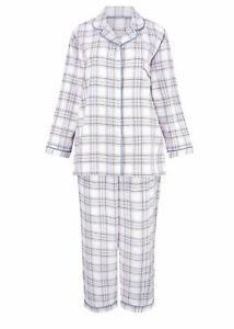 Champion Alice Womens Floral Warm 100% Brushed Cotton Pyjamas