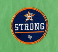 "HOUSTON STRONG 'Hurricane' World Series Champs 3 "" Iron on Patch Free Shipping"