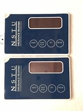 "Lot of 2 Sportline Thinq Pedometer Pocket Pedo * Brand New ""Credit Card Size"""