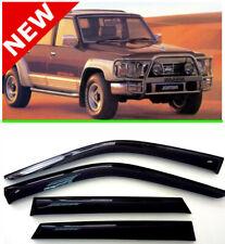 For Nissan Patrol Y60 5d Window Visor Rain Guard Shade Wind Sun Deflector1987-97