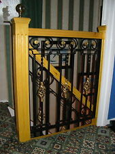 Wrought Iron Staircase balustrade , Hand Made in the UK  ( PRICE PER METRE).