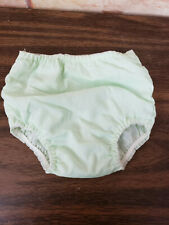 Vintage dolls  panties  hand made with plastic  lining K-64