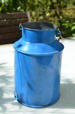 Emaille Milchkanne, blau, Fassungsvermögen 3l, tolle Deko, antik, vgl. Fotos!