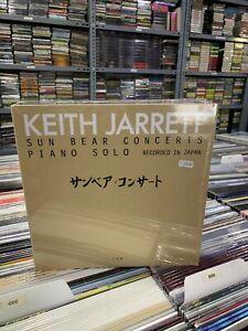 KEITH JARRETT 10 LP BOX SUN BEAR CONCERTS PIANO SOLO RECORDED IN JAPAN SEALED
