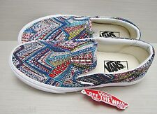 Vans Women's Classic Slip On Abstract Multi VN-0UC4D64 Size: 5