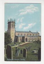 Richmond Church Yorkshire Postcard, A855