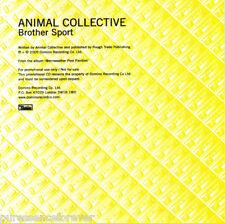 ANIMAL COLLECTIVE - Brother Sport (UK 1 Tk DJ CD Single)