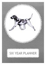 Bracco Italiano Dog Show Six Year Planner/Diary by Curiosity Crafts 2017-2022