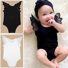 Newborn Baby Girls Infant Romper Jumpsuit Bodysuit Tutu Dress Clothes Outfit Hot
