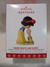 2017 Hallmark Keepsake Ornament Snow White and Dopey Disney Seven Dwarfs