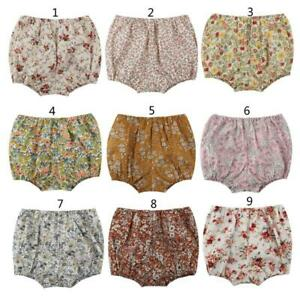 Baby Shorts Newborn Baby Bloomers Girls Pattern Shorts Toddler Trousers PP Pants