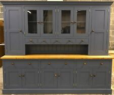 Sale! New solid wood hand made 8ft painted kitchen welsh dresser 8' ANY COLOUR