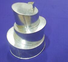 Wonky Topsy Turvy Round Baking Tins - 3 Tier