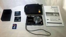 Panasonic LUMIX DMC-FH25 16.1MP 8x zoom Digital Camera W/ Manual, 8GB Card, Case