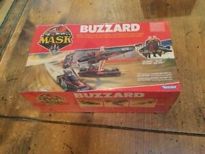 KENNER EURO MASK BUZZARD M.A.S.K. MISB Racing Series Sealed Mint