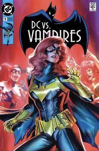 🔥🦇 DC VS. VAMPIRES #1 MASSAFERA Trade Dress Batgirl Homage Variant LTD 3000