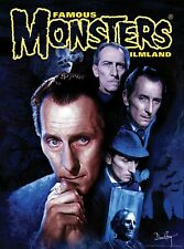 Famous Monsters Peter Cushing Poster Hammer Horror Star Wars