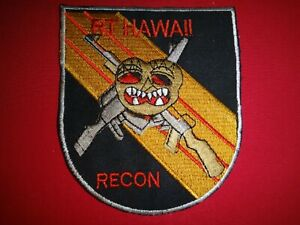 MACV-SOG RT HAWAII RECON US 5th Special Forces Group Vietnam War Patch
