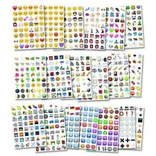 Stickers Funny Social Media Emoji Pack Bright Colorful Cute Fun Twitter Facebook