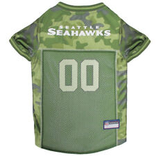 Seattle Seahawks NFL Pets First Licensed Dog Pet Mesh CAMO Jersey XS-XL NWT