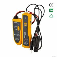 Yellow Underground Cable Locator Tracker Wire Fault Finder Network Cable Tester