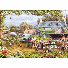 GIBSONS PICK YOUR OWN 500 PIECE JIGSAW PUZZLE - NOSTALGIC VISIT TO THE FARM