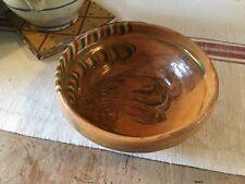 Vintage French Terracotta Olive Bowl