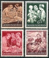 DR Nazi 3rd Reich Rare WW2 Stamp Hitler Jugend Mother & Child Propaganda Health