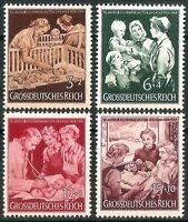 DR Nazi 3rd Reich Rare WW2 Stamp Hitler Jugend Mother & Child Propaganda Health