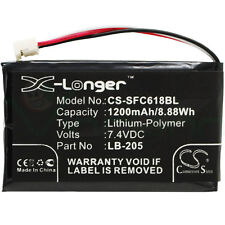 Batteria terminale POS SFC618BL X-Longer p SAFESCAN 6185 1200mAh 131-0477 LB-205