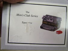 Midwest of Cannon Falls Men's Club Series Phb: Typewriter with Red Book - Mib!
