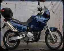 CAGIVA ELEFANT 750C 94 3 A4 Metal Sign moto antigua añejada De