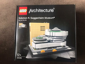 NEW SEALED LEGO Architecture 21035 Solomon R. Guggenheim Museum FREE SHIPPING