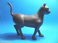 Vintage Cast Iron CAT Coin Bank DOORSTOP 9.5""