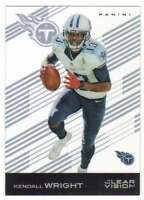 2015 Panini Clear Vision Football Acetate Card #58 Kendall Wright Titans