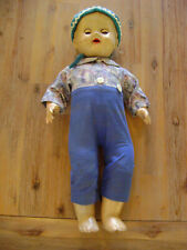 """Imperial Crown Toy Vintage Baby Doll 19"""" Sleepy Eyes Moveable Arms Legs Head"""