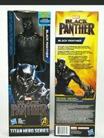 """MARVEL Black Panther 12""""Action Figure Titan Hero Series FACTORY SEALED BRAND NEW"""