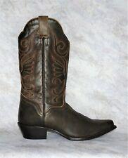 New J.B. Dillon JBW2302 Womens Brown Leather Western Cowboy Cowgirl Boots Sz 10B