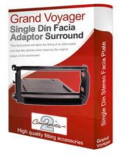 Chrysler Grand Voyager stereo radio CD Facia Fascia adapter panel trim + pocket