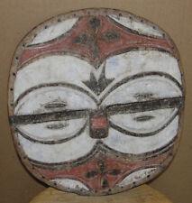 Beautiful African DRC Teke Tribal Mask Masque Africa Congo PLANK BATEKE ART